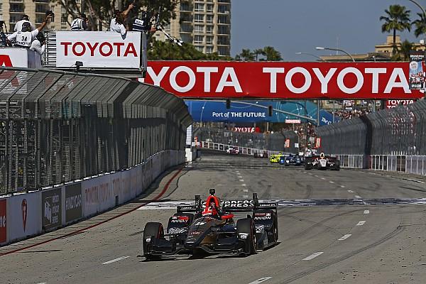 IndyCar Hinchcliffe : Une victoire