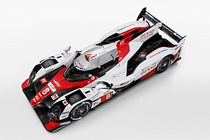 WEC Breaking news Toyota reveals its 2017 LMP1 challenger