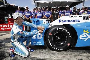 IndyCar Kwalificatieverslag IndyCar Pocono: Sato pakt pole, zware crash Hunter-Reay