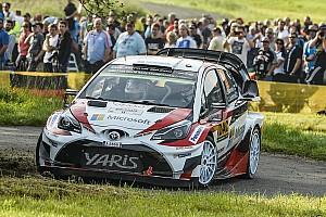 Germania, PS10: a sorpresa svetta la Toyota di Hanninen