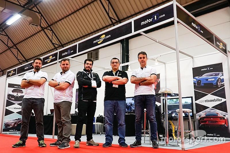 Motorsport.com ve Motor1.com İstanbul Autoshow'da