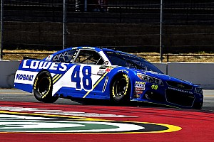 NASCAR Cup Race report Jimmie Johnson wins Stage 2 at Sonoma as contenders find trouble