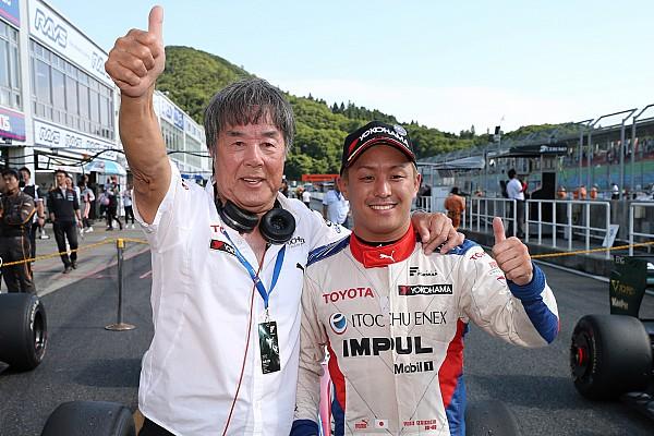 スーパーフォーミュラ 速報ニュース 【SF】岡山レース2:残り9周のスプリント、守りきった関口が逆転優勝