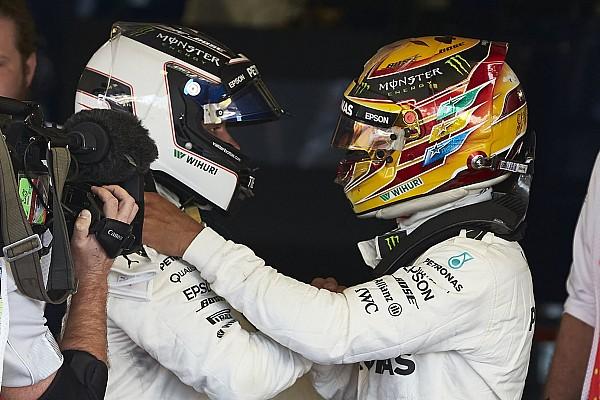 Formula 1 Bottas/Hamilton title fight will not sour relationship - Mercedes
