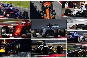 2017赛季F1车队概览