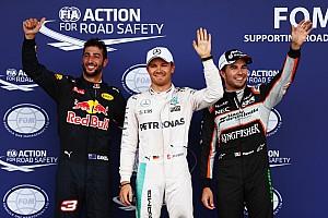 Formula 1 Qualifying report European GP: Rosberg on pole as Hamilton crashes in Q3