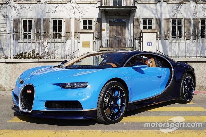 Video: Bugatti-baas geeft Chiron de sporen op de Nordschleife