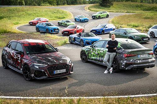 Nuova Audi RS 3, le prime foto ufficiali dei prototipi