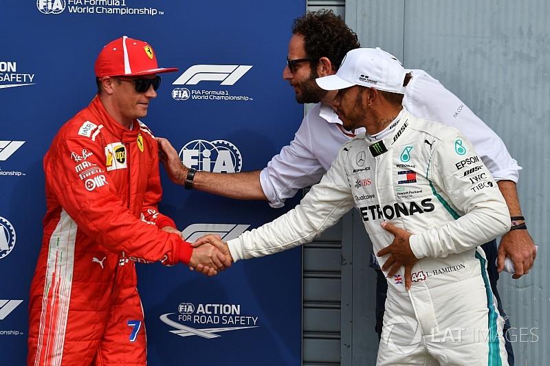 Räikkönen : l'admiration de Brawn, l'hommage de Hamilton