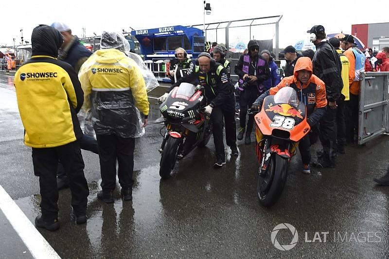 MotoGPコラム:数年に一度ある悪天候。イギリスGP中止決定で想うこと