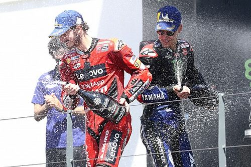 遠かったクアルタラロ、遠かった初優勝。2位フランチェスコ・バニャイヤ「予選で勝つチャンスを失った」