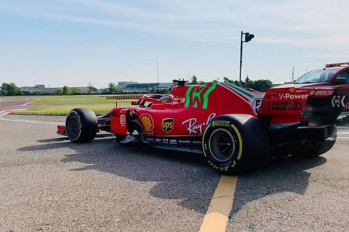 Ferrari: Sainz sulla SF71H a Fiorano per memorizzare le procedure