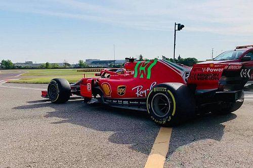 Sainz, Ferrari SF71H ile Fiorano'da piste çıktı