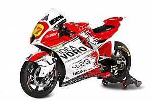 MV Agusta launches bike for grand prix racing return