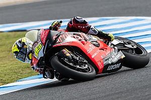 Ducati, Bautista contento della V4: