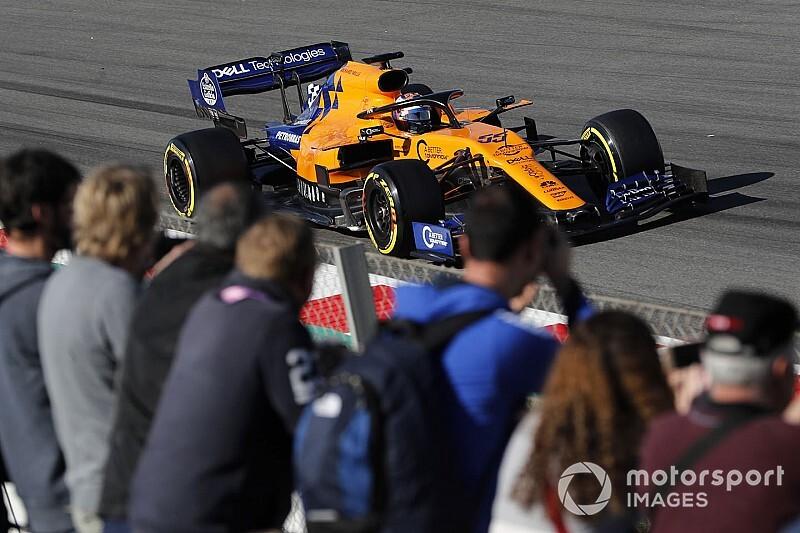 McLaren bovenaan na zes testdagen in Barcelona, 128 ronden voor Verstappen