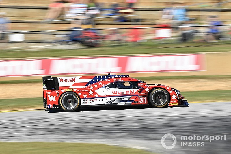 Petit Le Mans: AXR Cadillac leads after three hours