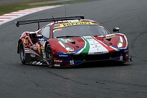 Ferrari recibe un castigo en el rendimiento para las 6 horas de Shanghai