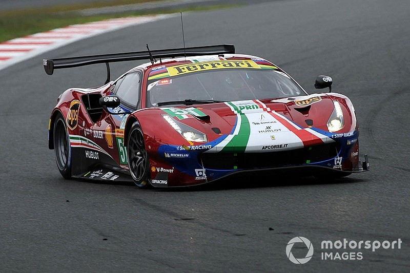 La Ferrari lascia il Fuji con l'amaro in bocca