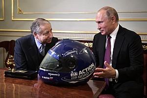 Jean Todt a discuté avec Vladimir Poutine