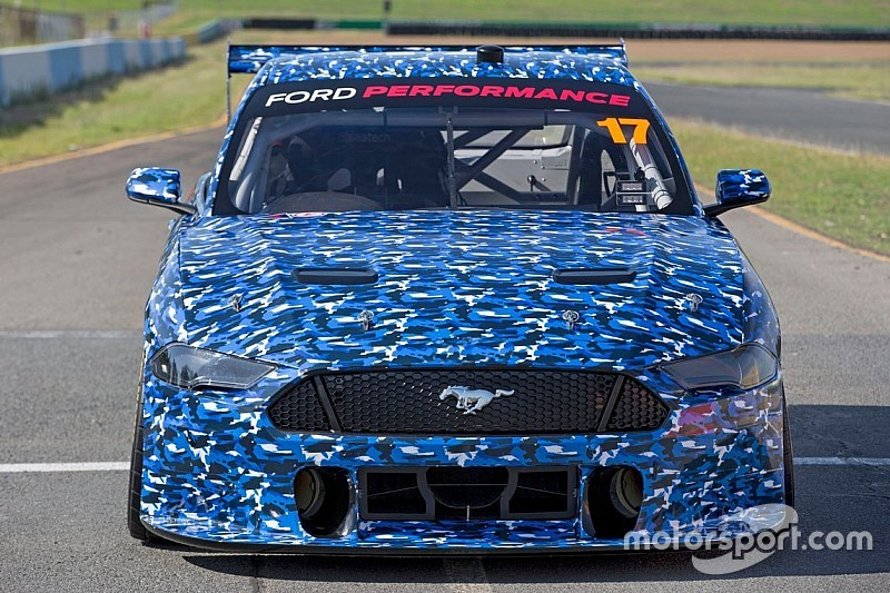 Supercars Mustang breaks cover