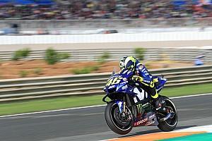 Rossi, Valencia'da kuru zeminde hiç rahat değil