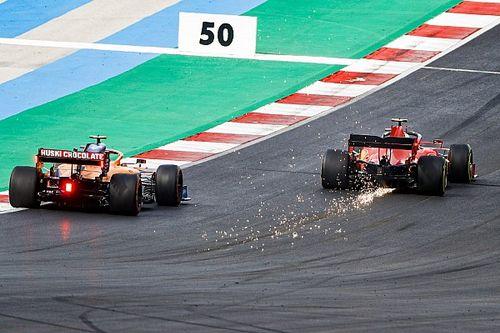 A McLaren kíváncsian figyeli a Ferrari fejlődését
