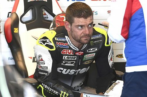 "Crutchlow ""happy"" with MotoGP career if it ends after 2020"