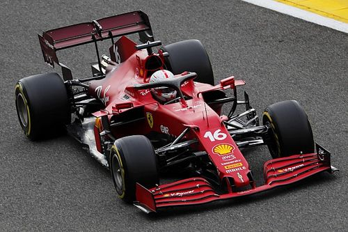 Ferrari changes Leclerc's F1 chassis after Spa FP2 crash damage