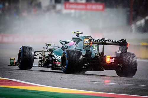 Cars and tyres, not caution, behind F1's inability to race in the wet