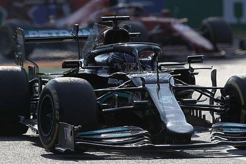 Videón Hamilton rosszul sikerült rajtja az olasz sprintről