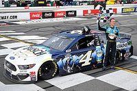 С 20-го места на первое: чемпион NASCAR устроил мощный прорыв на «Треугольнике Поконо»