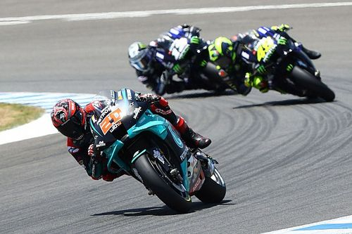 Quartararo shrugs off Yamaha engine problems
