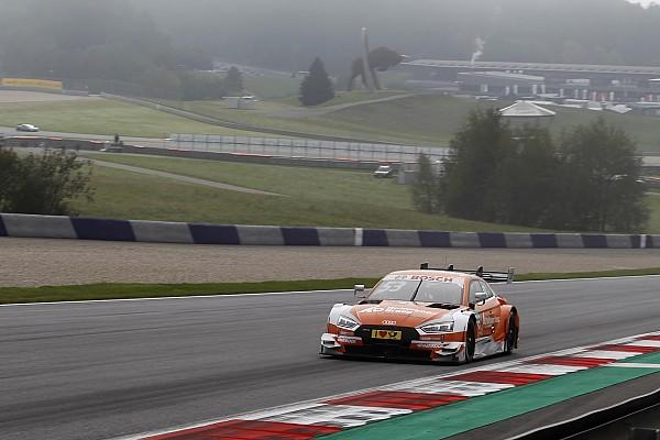 DTM Reporte de calificación Green logra una ajustada pole en Austria