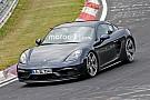 Automotive Porsche 718 Cayman GTS spied undisguised on Nurburgring