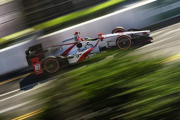 IndyCar Бурдэ выиграл гонку в Сент-Питерсберге с последнего места, Алешин – 14-й