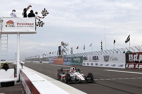 IndyCar 速報ニュース 【インディカー】開幕戦:ブルデー最後尾から優勝。琢磨悔しい5位