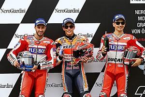 MotoGP Qualifying report Austria MotoGP: Marquez beats Ducatis for third straight pole