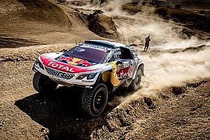كروس كاونتري تقرير المرحلة رالي المغرب: كارلوس ساينز الأسرع في المرحلة الثانية القصيرة