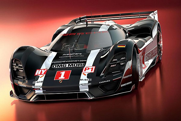 Designstudie: Porsche-Rennlegende 908 in modernem Design