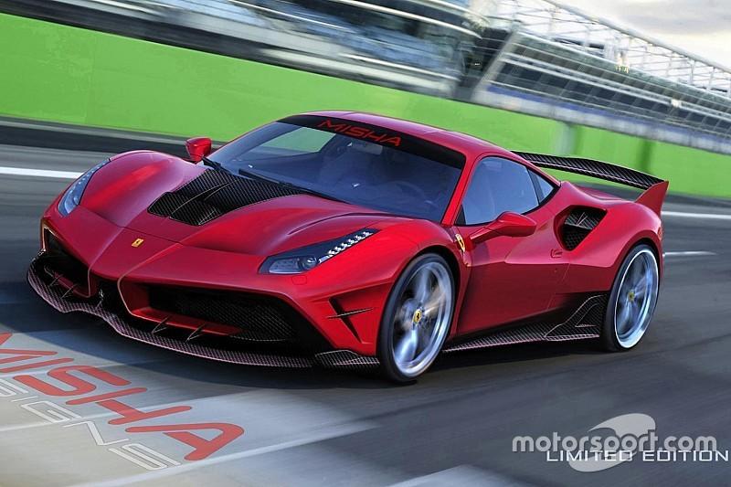 Misha Design bouwt Ferrari 488 GTB om naar baby-FXX K
