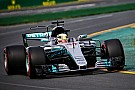 Formula 1 Australian GP: Hamilton fastest in first practice of F1 2017