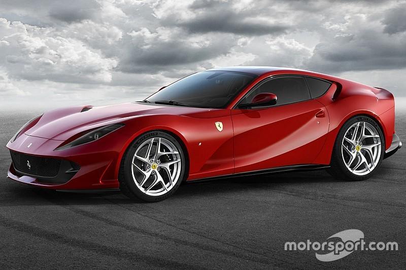 Ferrari présente la 812 Superfast!