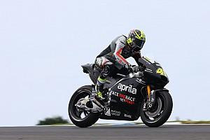MotoGP Breaking news Espargaro says Aprilia gives him more confidence than Suzuki