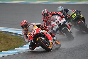 MotoGP Trainingsbericht MotoGP 2017 in Motegi: Crutchlow räumt Lorenzo ab, Marquez stürzt