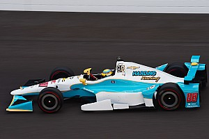 IndyCar Practice report Indy 500: Chaves tops last practice before qualifying