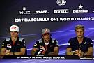 Malaysian GP: Thursday's press conference