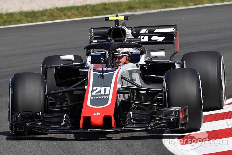 Magnussen: Aracımız hızlı görünüyor