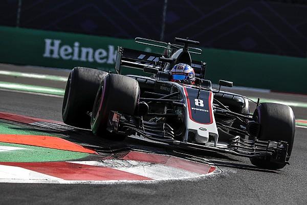 Grosjean noemt vorm van Haas in Mexico 'een klap in het gezicht'