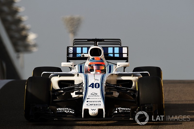 Robert Kubica: 100 Runden für Williams in Abu Dhabi